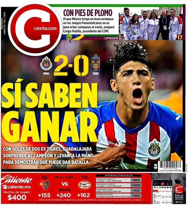 portadas de deportes 29 de julio