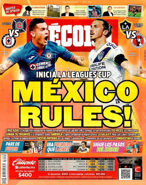portadas de deportes 23 de julio